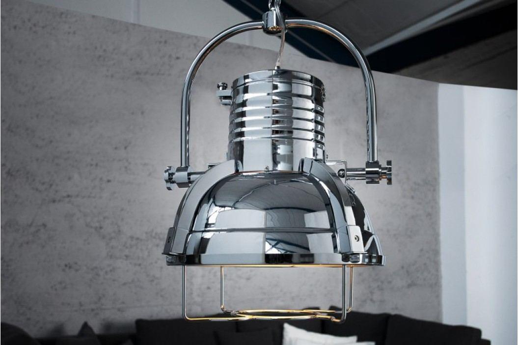 Visící lampa INDUSTRIE II - chromová