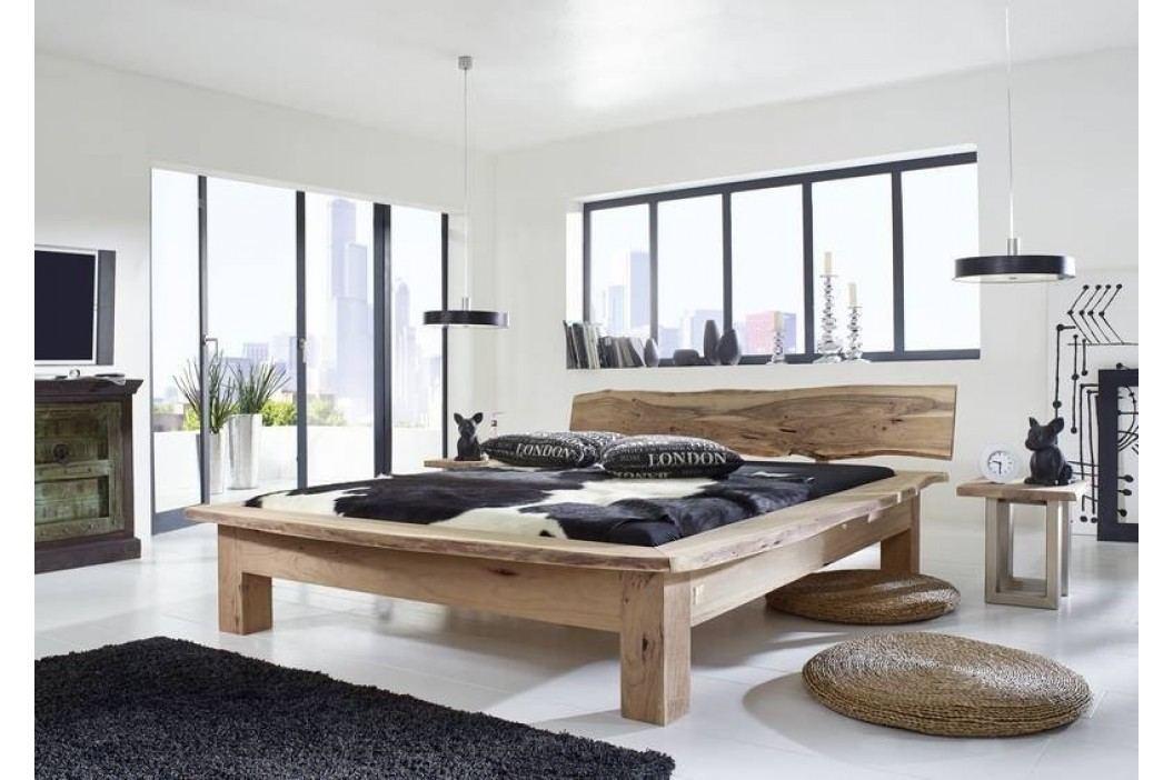 METALL postel 180x200cm akátový nábytek