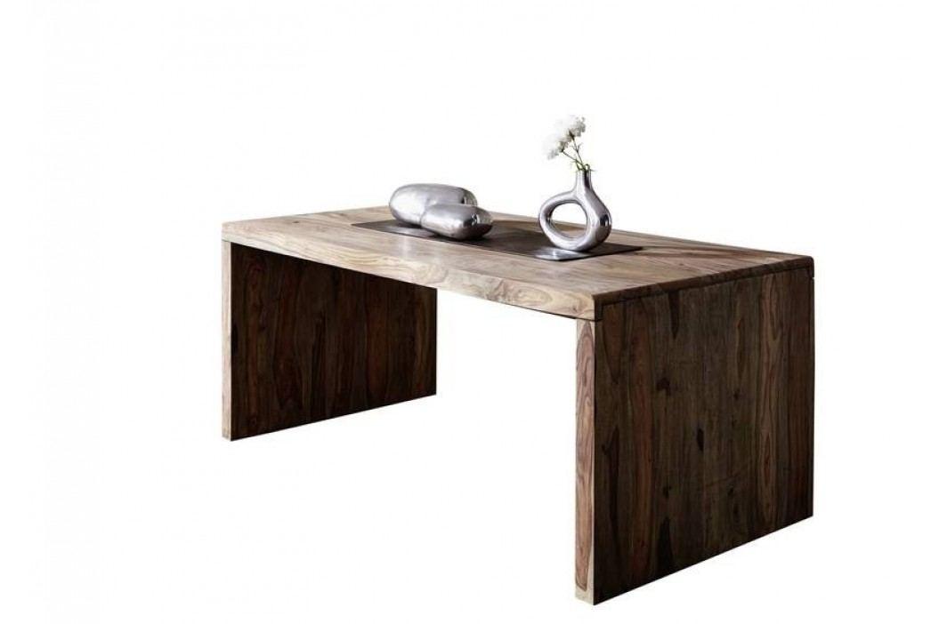 masivní indický palisandr, psací stůl GREY WOOD #711