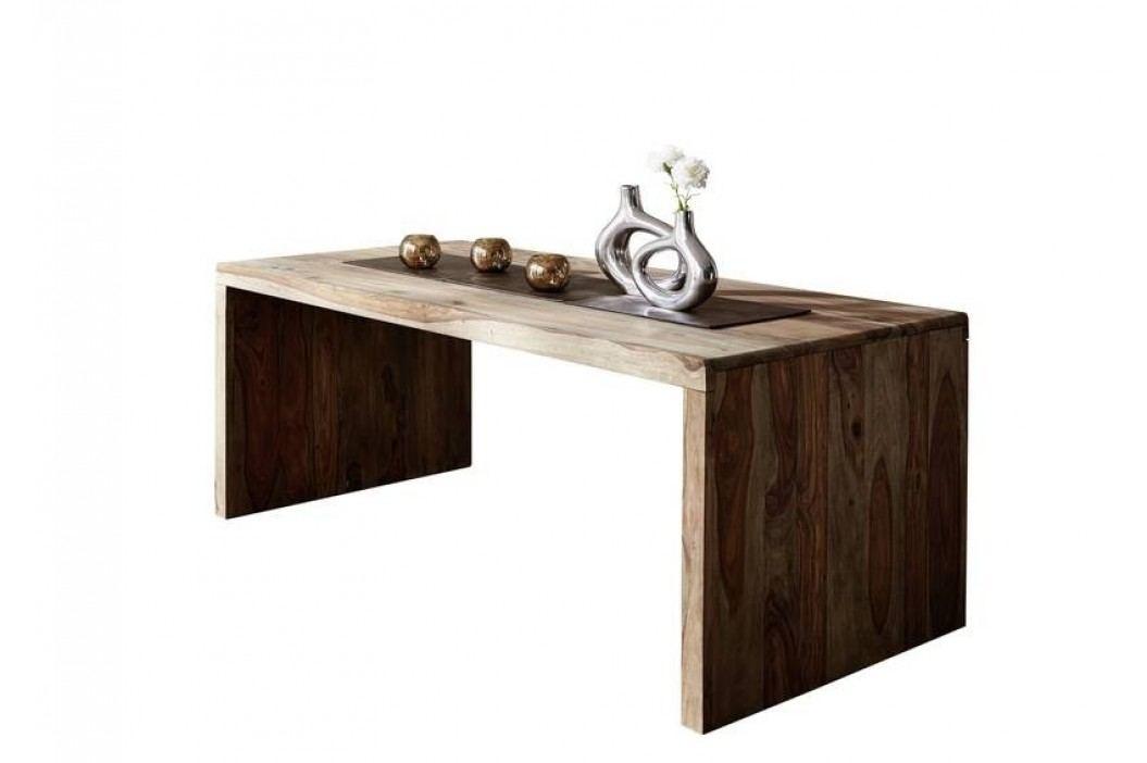 masivní indický palisandr, psací stůl GREY WOOD #712