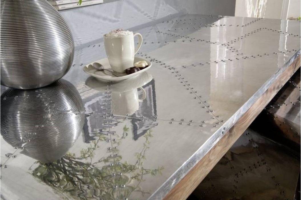 PLAIN SHEESHAM psací stůl # 780 olejovaný indický palisandr, šedá