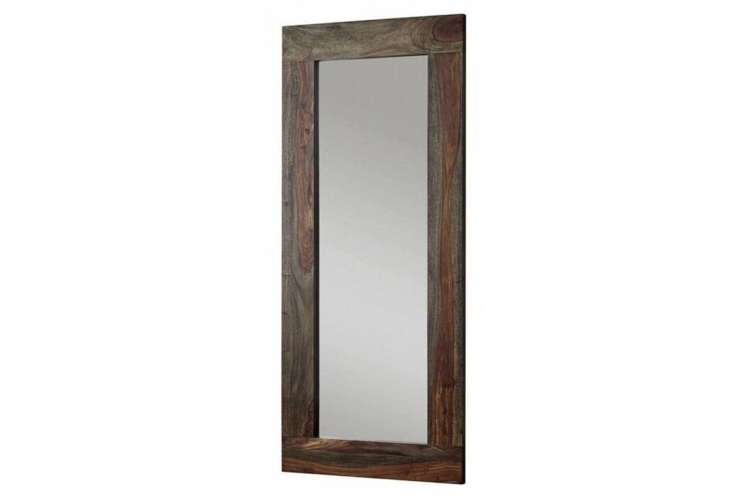 PLAIN SHEESHAM zrcadlo # 742 olejovaný indický palisandr, šedá
