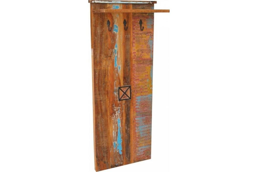 OLDTIME Věšák # 111 indické staré dřevo, lakované