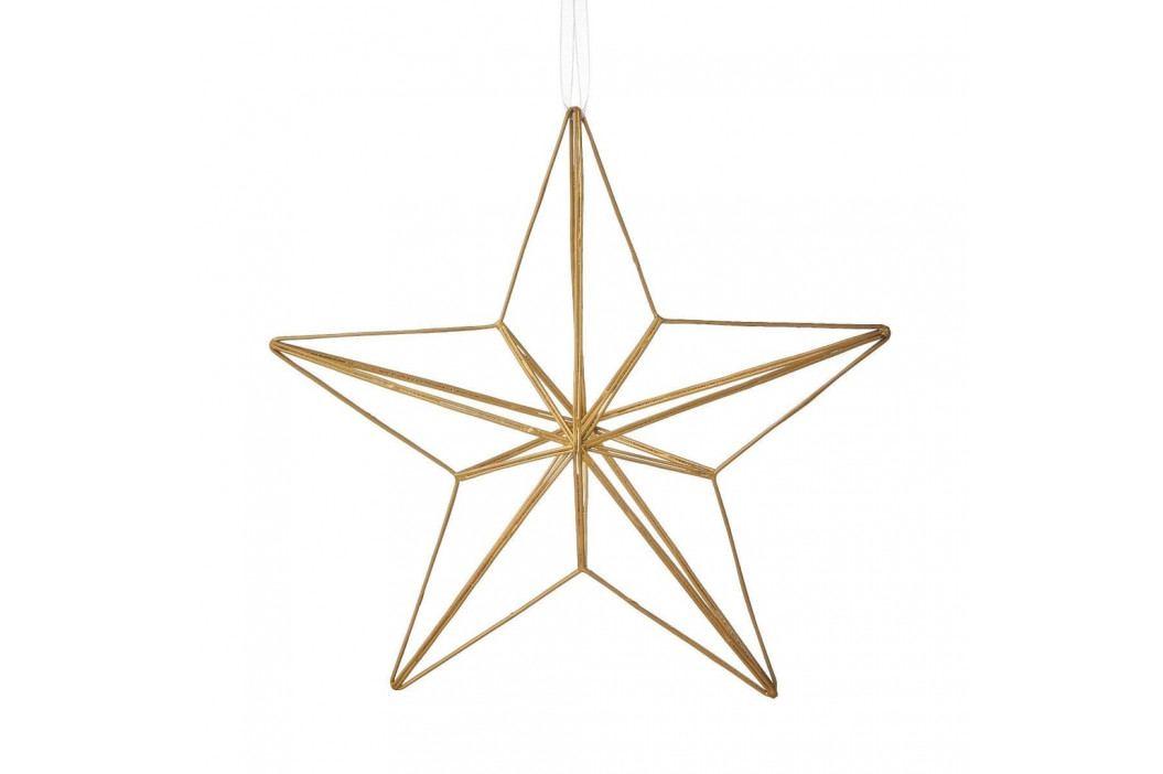 HANG ON Ozdoba hvězda 25 cm