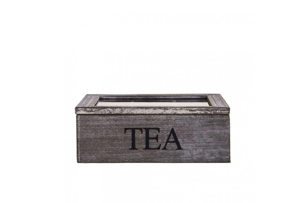 CAMPAGNE Krabička na čaj 3 přihrádky