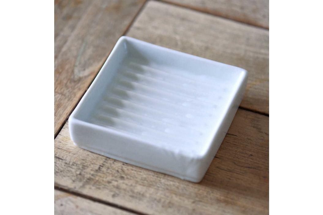 BRIGHTON Miska na mýdlo čtvercová 11x11cm