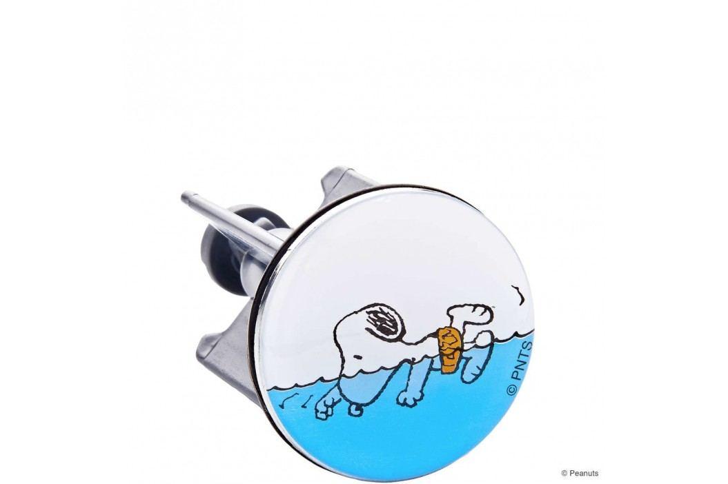 PEANUTS Zátka do umyvadla plavající Snoopy