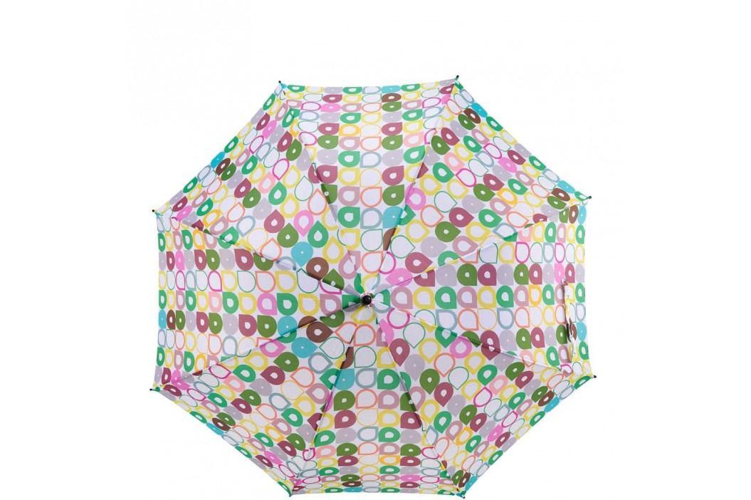 BODYGUARD Deštník kapky - zelená