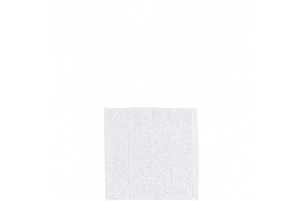 COTTON CLUB Ručník 30x30cm, set 3ks - bílá