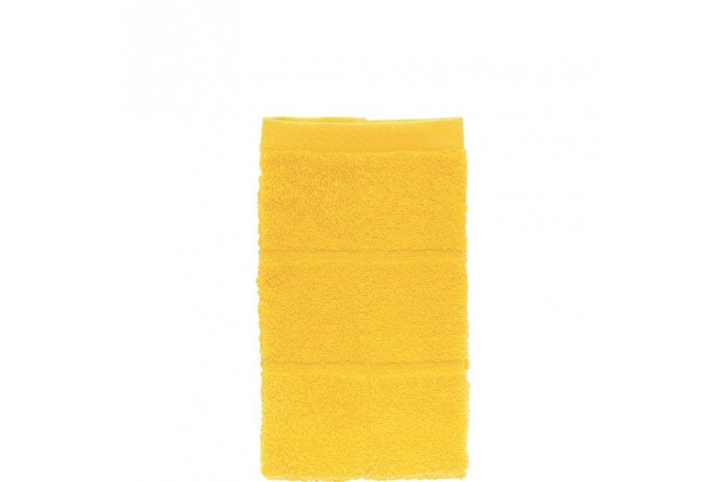 COTTON CLUB Ručník pro hosty 30x50cm - žlutá