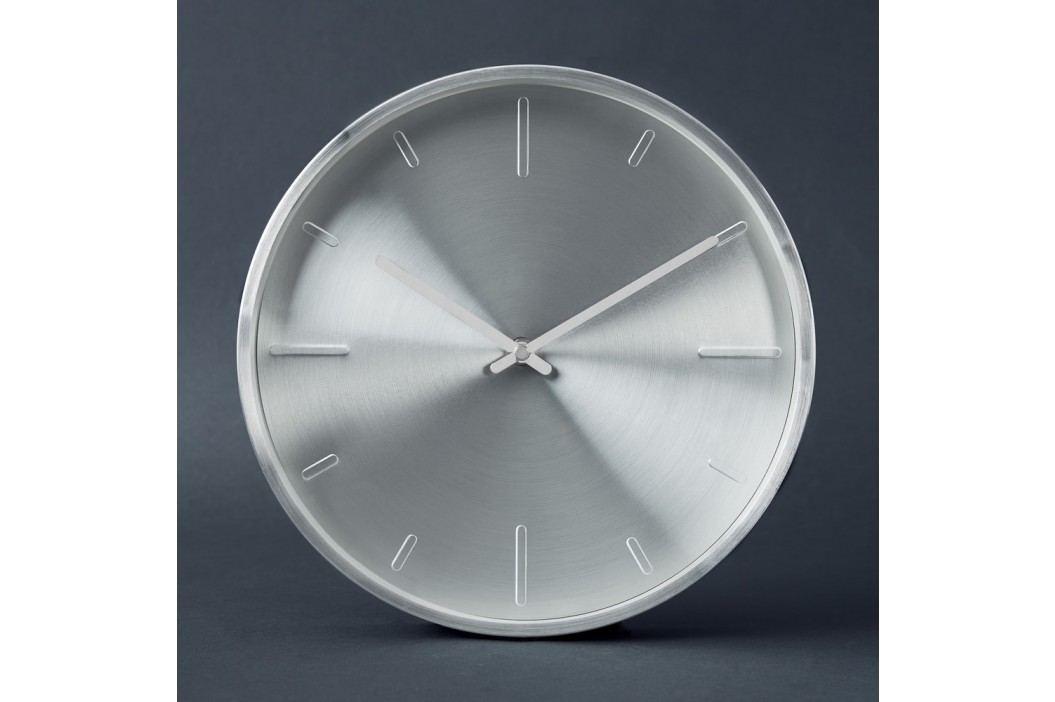 WALL COUTURE Nástěnné hodiny, 28cm - stříbrná
