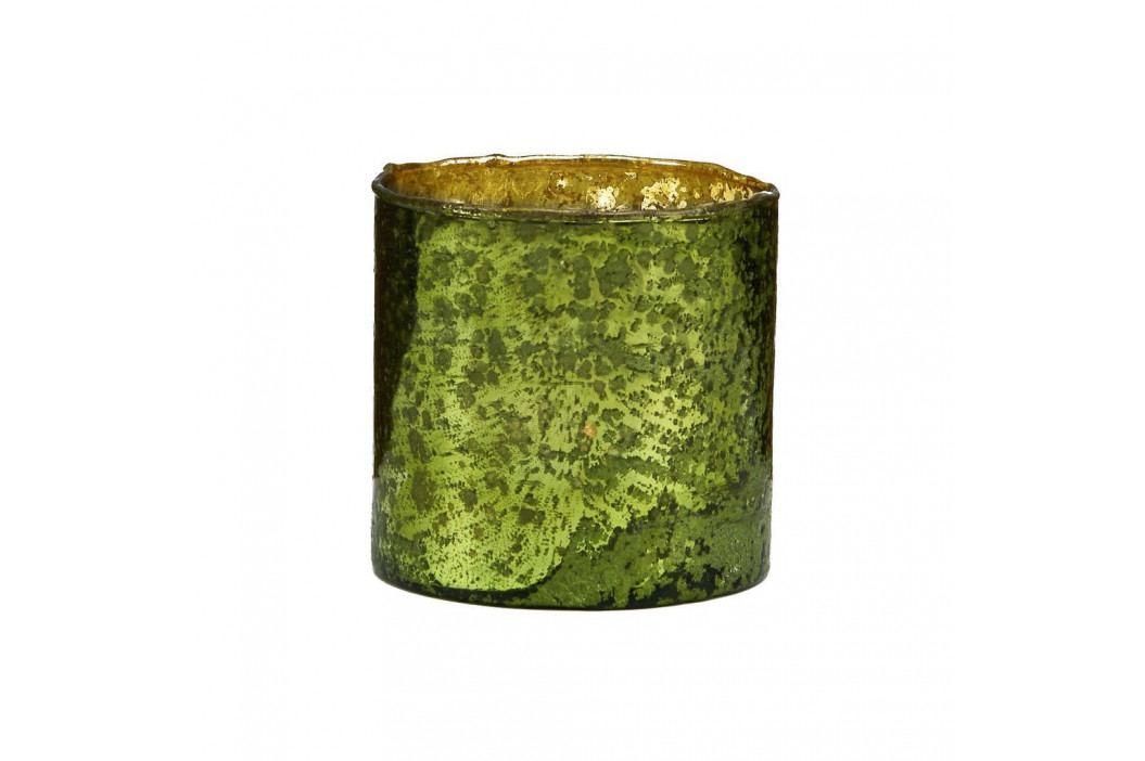 DELIGHT Skleněný votivní svícen 10 cm - zelená