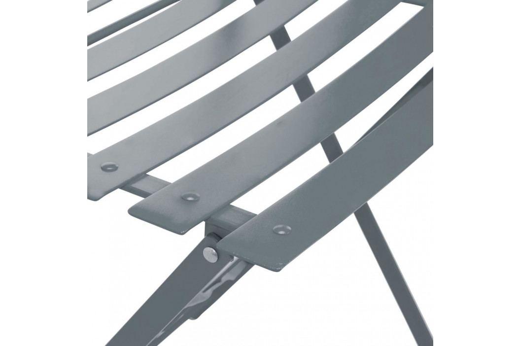 DAISY JANE Skládací židle - šedá