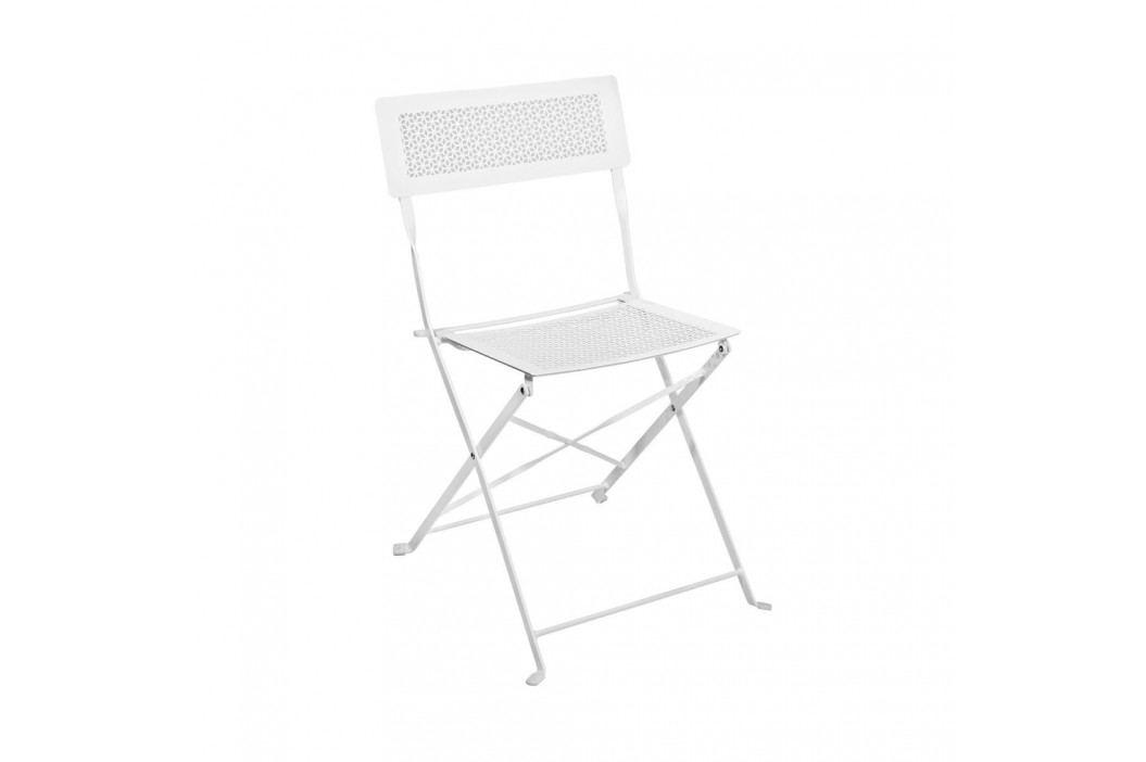 PATTERTON PARK Skládací židle - bílá