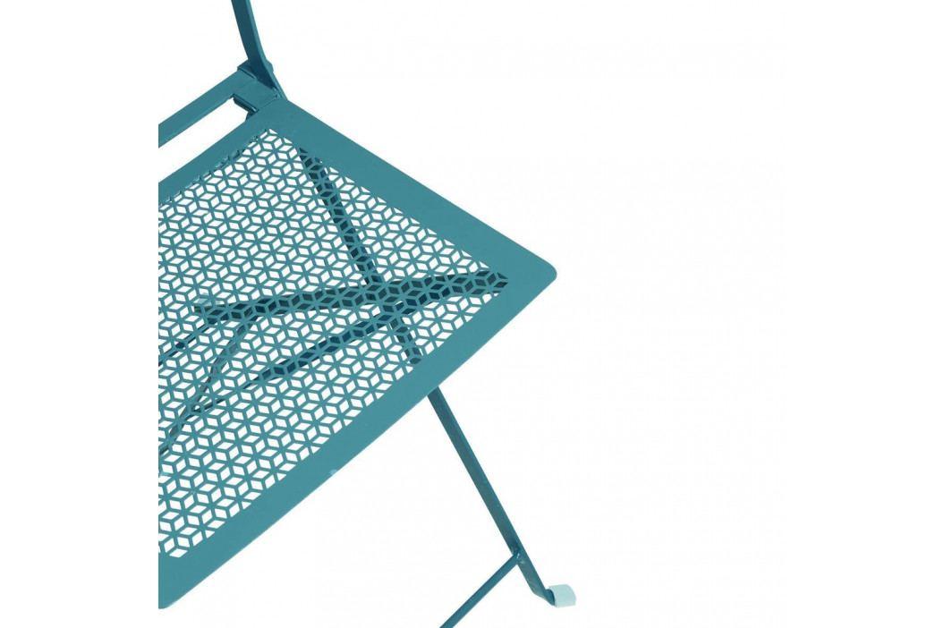 PATTERTON PARK Skládací židle - petrolejová