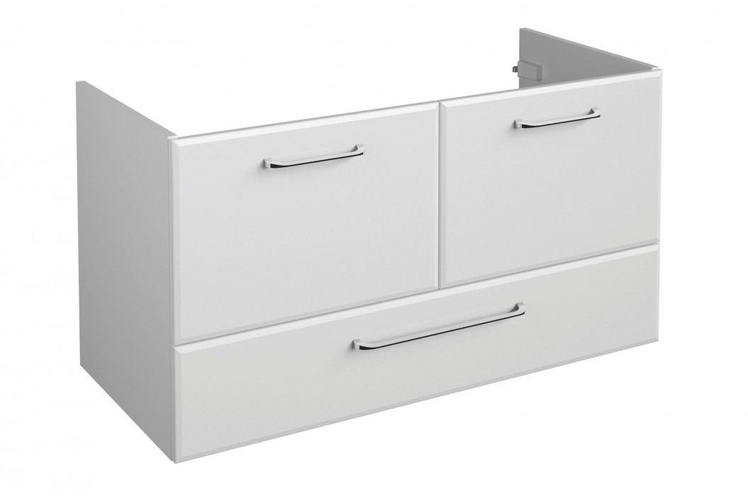 Sconto Umyvadlová skříňka FILO 619 bílá vysoký lesk