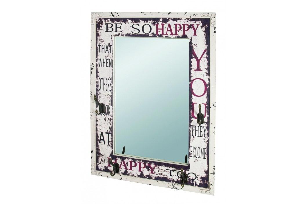 Zrcadlo s věšáčky ANOEL
