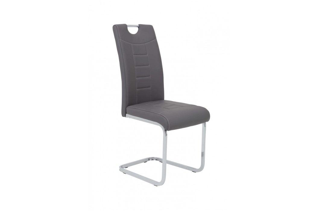 Sconto Jídelní židle RUBY S šedá