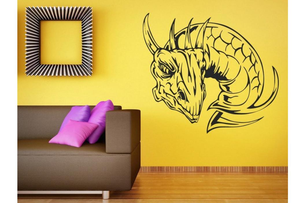 Samolepka na zeď Hlava draka 1257