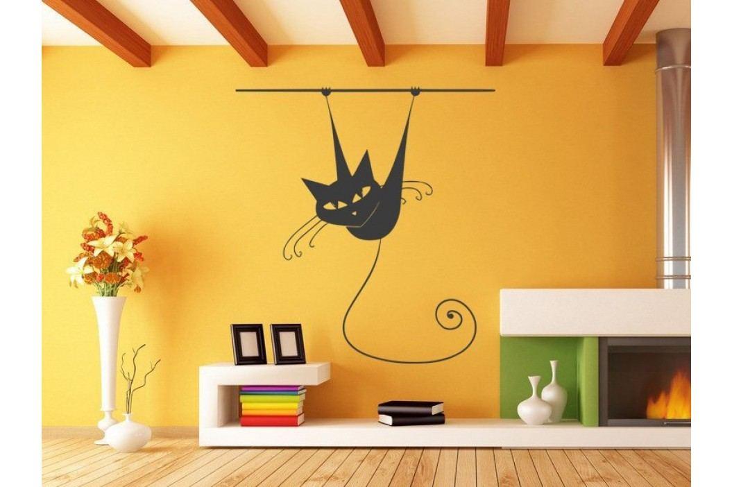 Samolepka na zeď Kočka 013