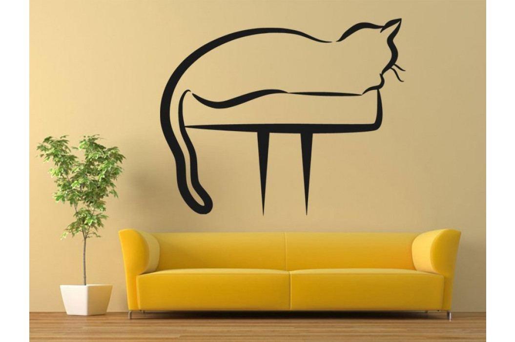 Samolepka na zeď Kočka 0444