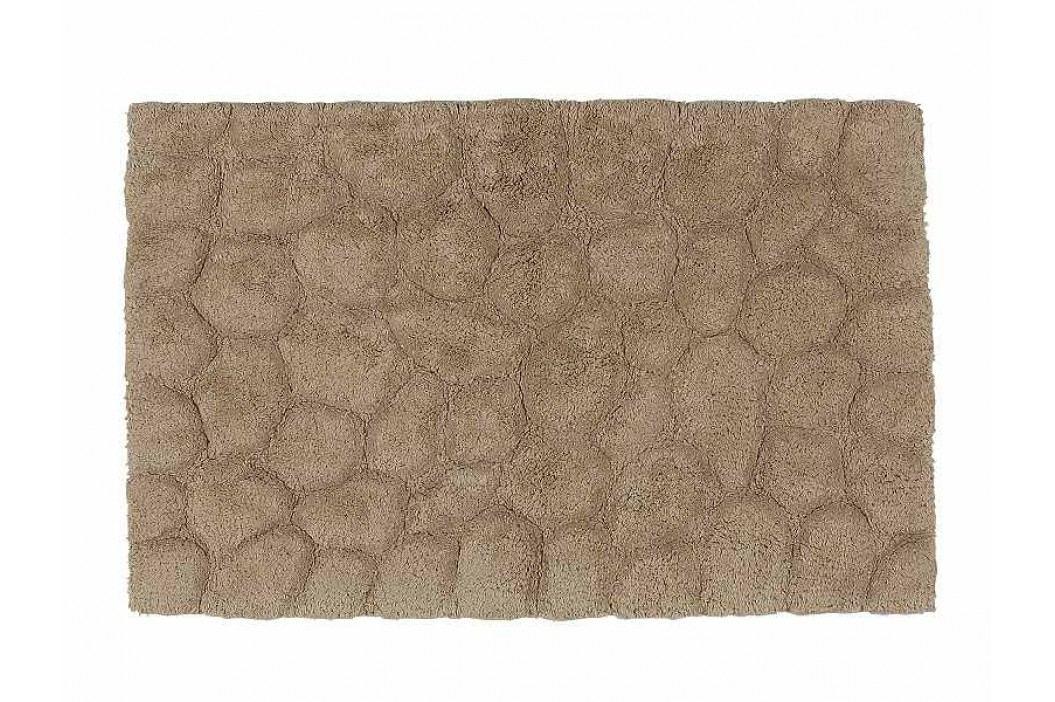 Předložka do koupelny béžová - bavlna 50x80cm - (BA61345)