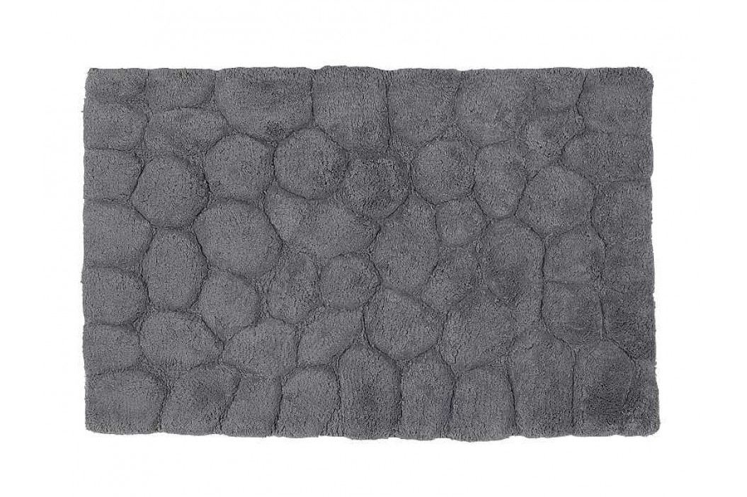 Předložka do koupelny šedá - bavlna 50x80cm - (BA61347)