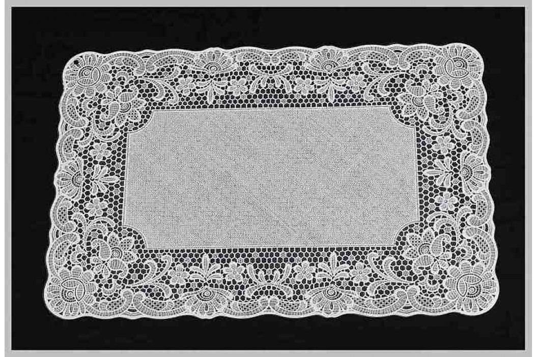 KERSTEN - Set prostírání, PVC, bílé 30x45cm bal/4ks - (RES-5310)