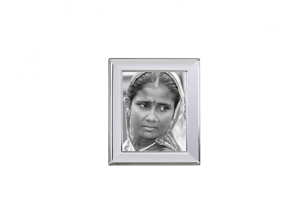 Fotorámeček lesklý stříbrný 15x20cm - (AX11032)