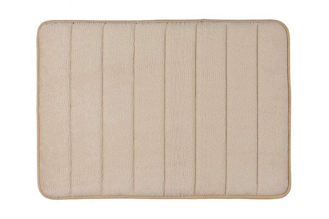 Předložka na koupelny béžová, mikrovlákno 40x60cm - (BA14177)