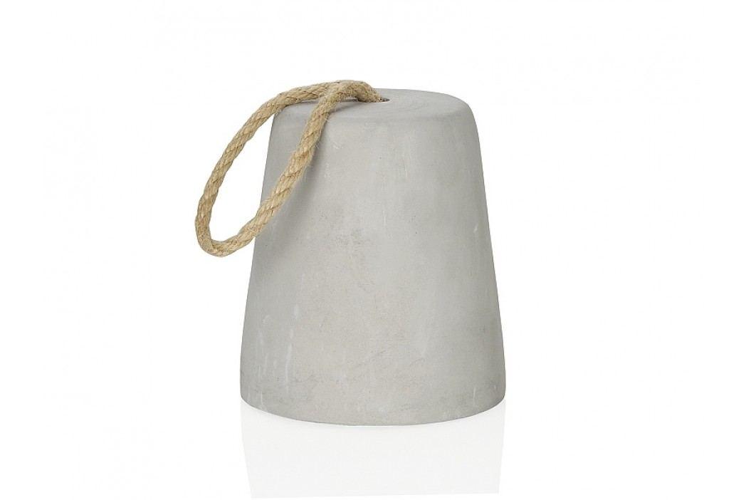 Zarážka za dvěře, cement O12,3x13,5cm - (AX66252)
