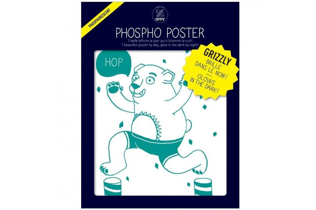 OMY DESIGN & PLAY Svítící plakát ORSO