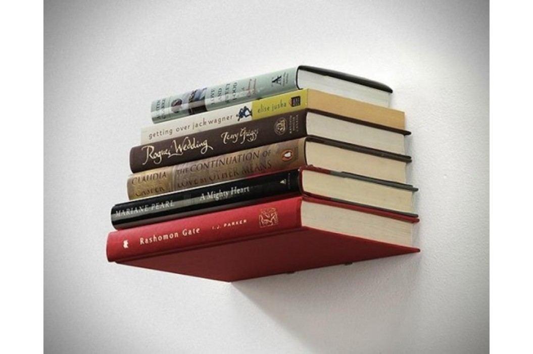 Polička na knihy Umbra Conceal Shelf malá - stříbrná