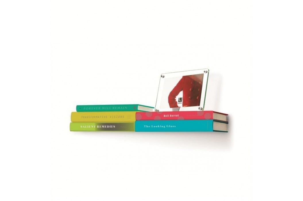 Polička na knihy Umbra Conceal Double Shelf - nikl