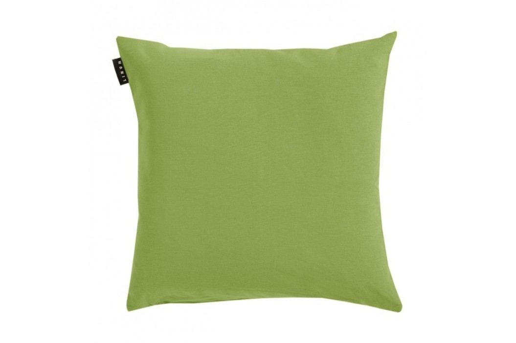 Povlak na polštář 40x40 cm LINUM Annabell - hráškově zelený