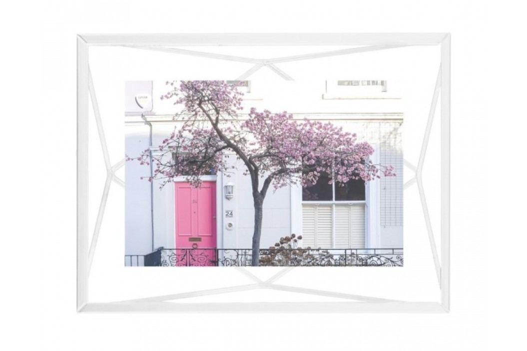 Rámeček na fotografii 10x15 cm Umbra PRISMA - bílý