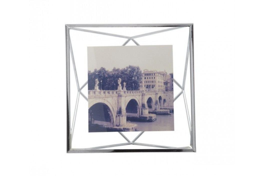 Rámeček na fotografii 10x10 cm Umbra PRISMA - chrom