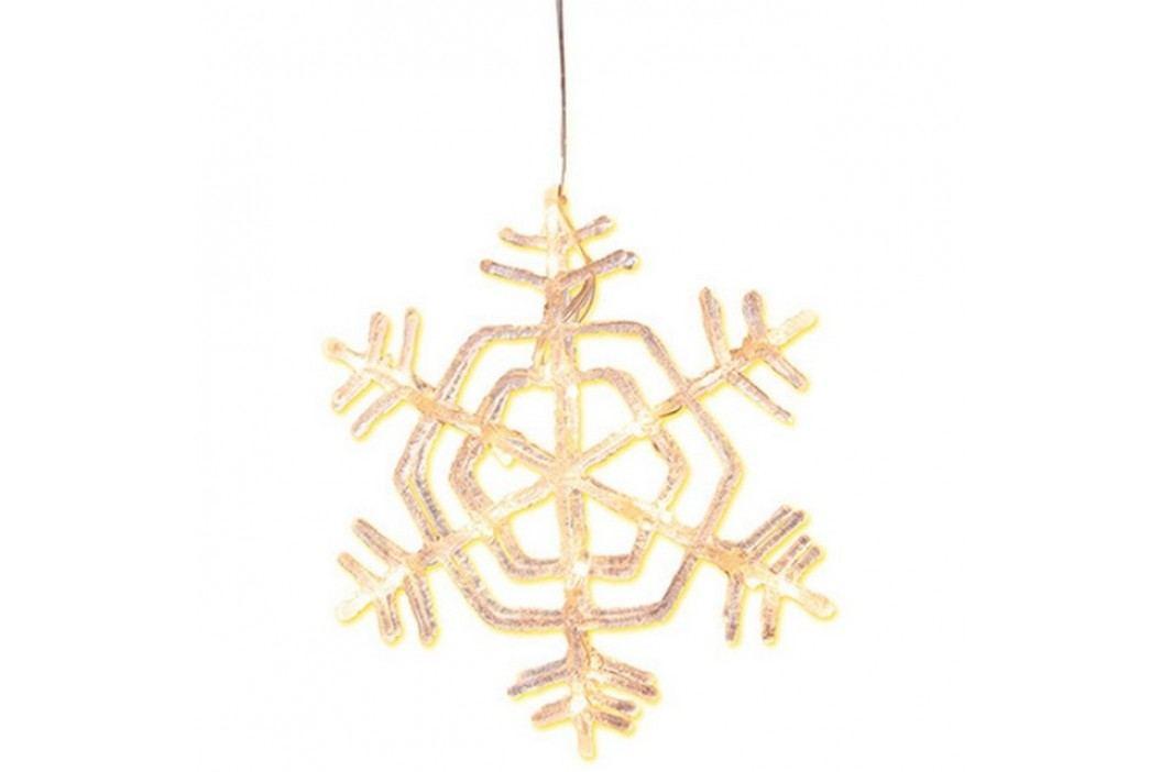 Dekorační svítící vločka STAR TRADING Snowflake