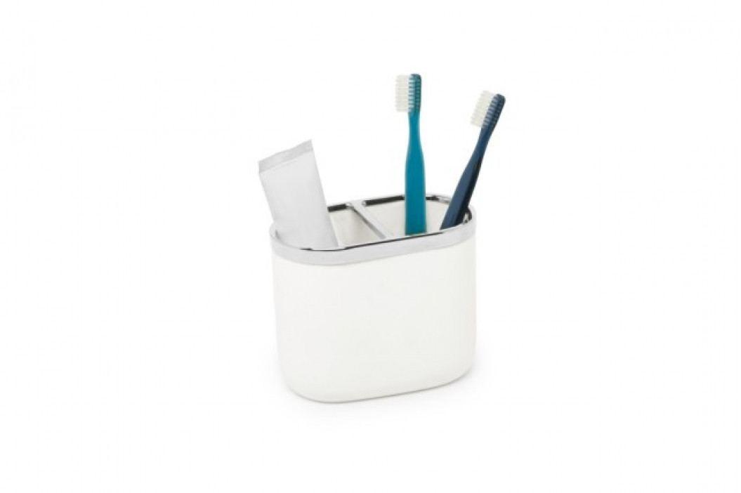 Kelímek na zubní kartáčky Umbra JUNIP - bílý