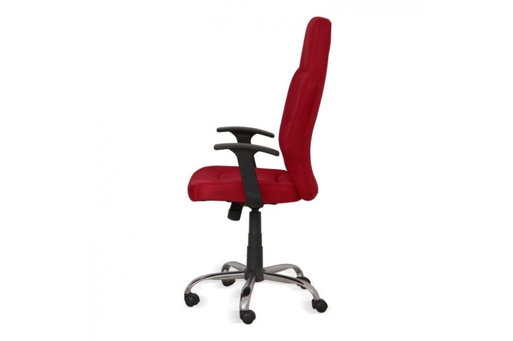 Kancelářské křeslo, červené, VAN