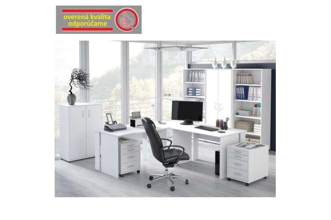 PC stůl, bílá, BEK - 08
