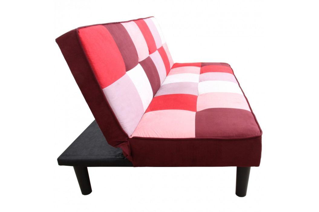 Pohovka čalouněná barevná vzor čtverce typ 2 TK3193 obrázek inspirace