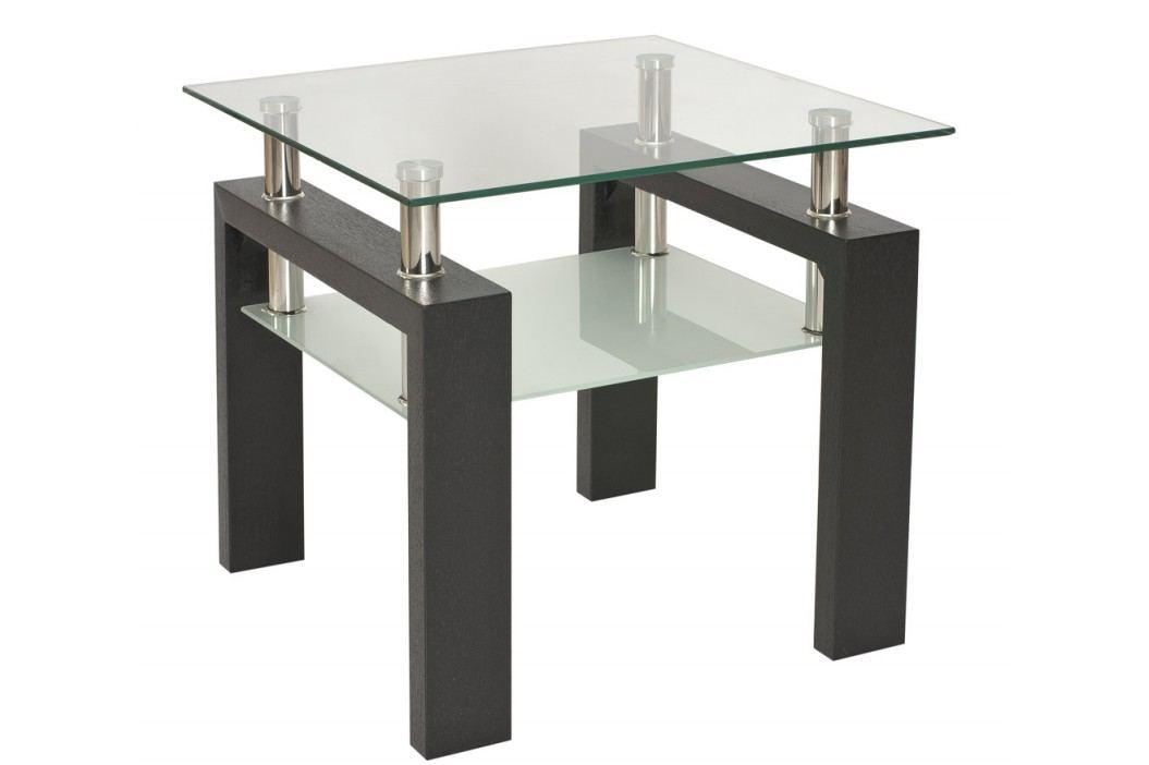 Stylový konferenční stolek v barvě wenge typ D KN126