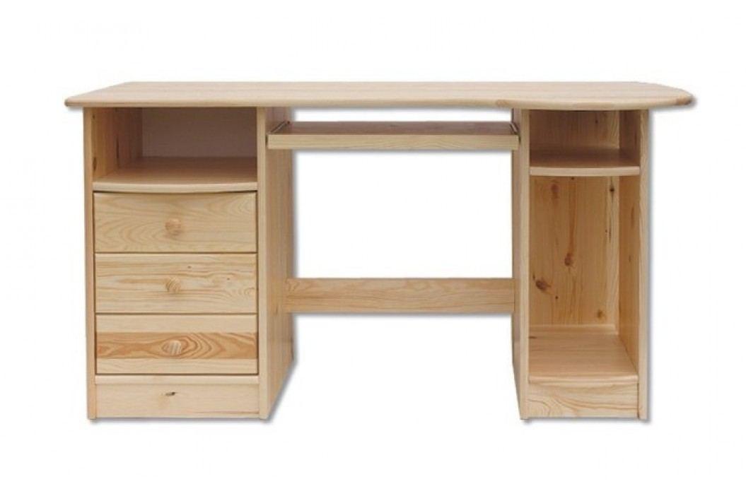 Dřevěný pracovní stůl se zásuvkami typ RB102 KN095