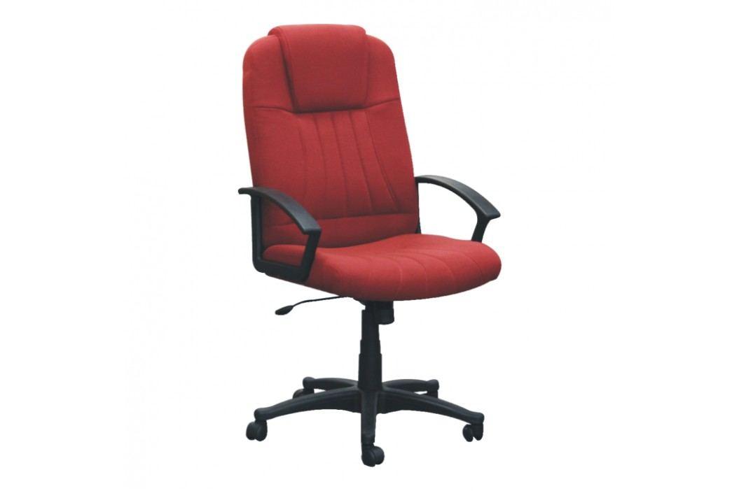 Kancelářské křeslo ve stylovém moderním provedení červená TC-7741