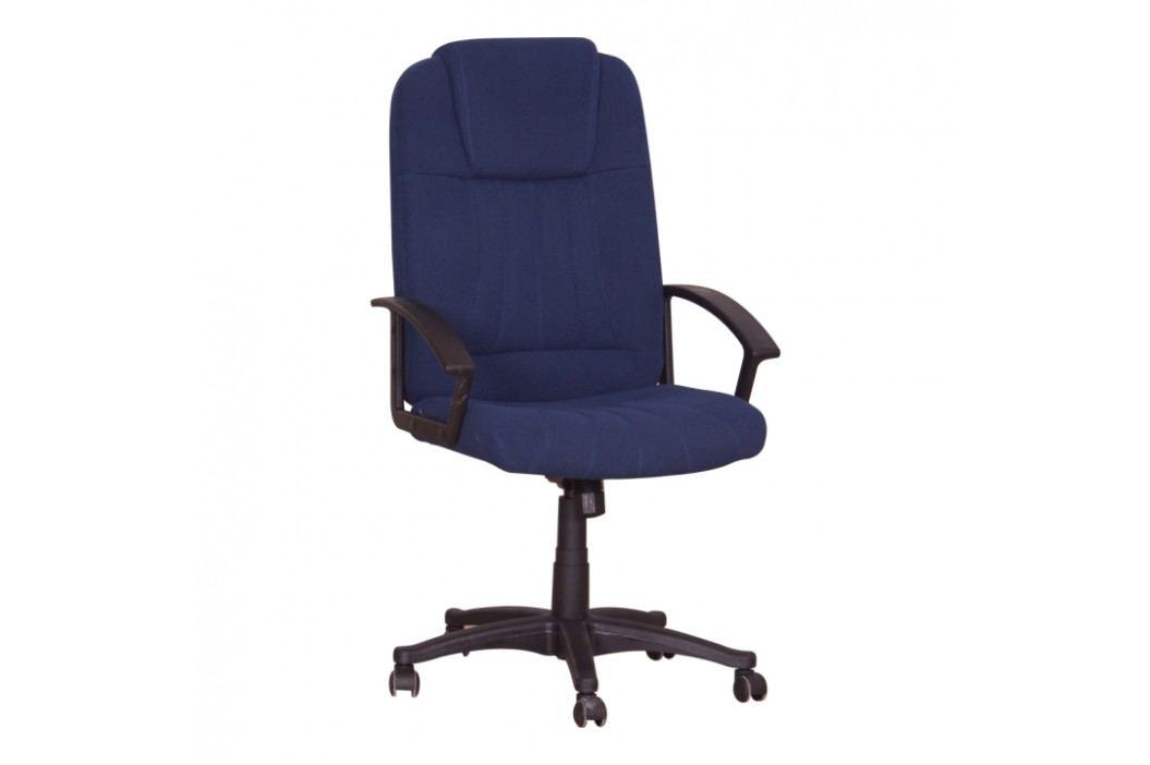 Kancelářské křeslo v jednoduchém moderním provedení modrá TC3-7741