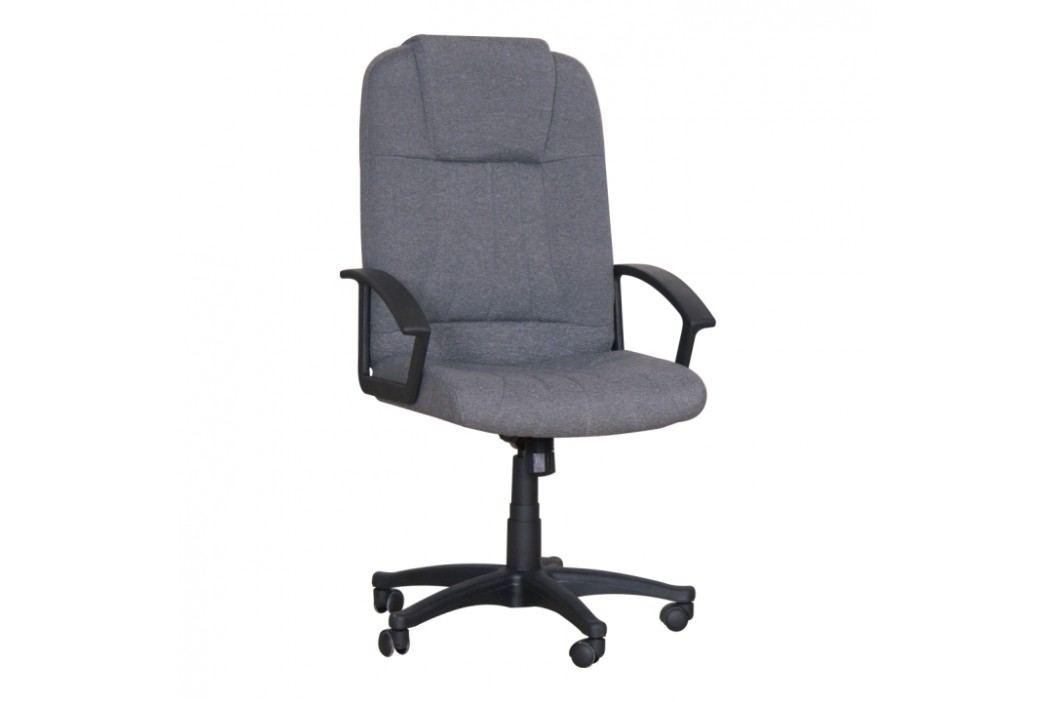 Kancelářské křeslo v jednoduchém moderním provedení šedá TC3-7741