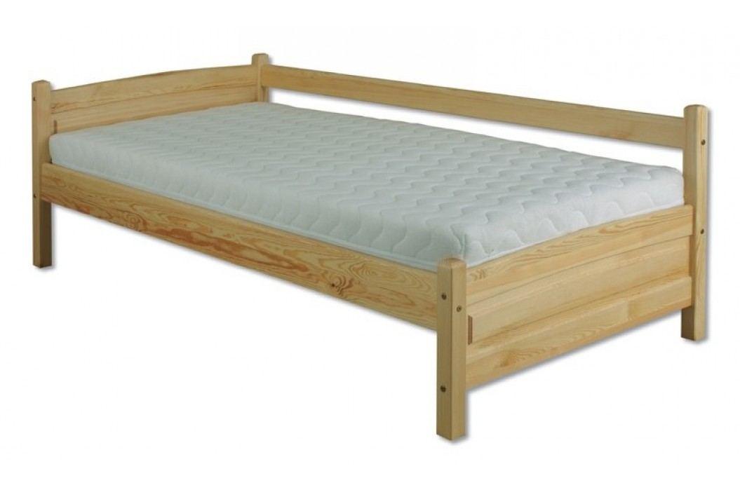 Dřevěná klasická postel o šířce 90 cm typ KL133 KN095