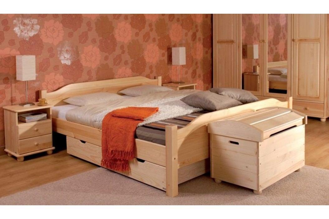Dřevěný noční stolek se zásuvkou typ NS104 KN095