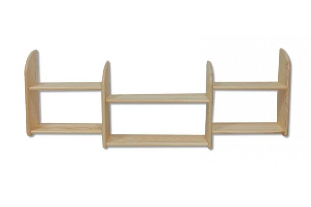 Dřevěné praktické police typ KP101 KN095